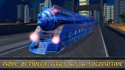 Future Robot Transform Train screenshot 3
