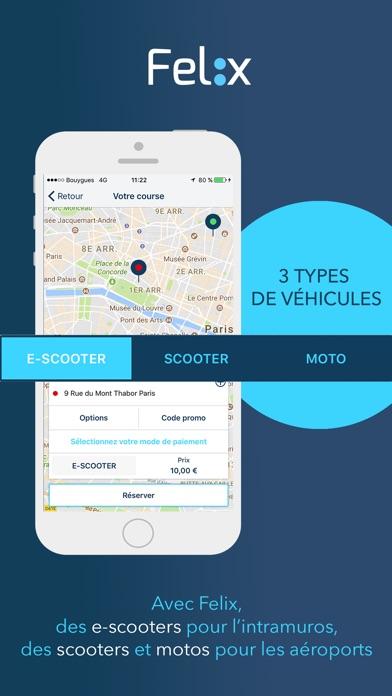 Felix : chauffeur en e-scooterCapture d'écran de 3