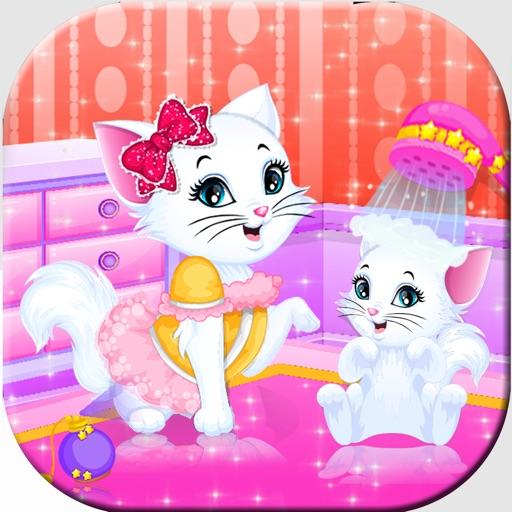 Fluffy Love Cat Makeup Salon