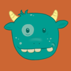 Youzell Dunsay - Bitey Monster  artwork