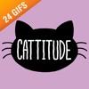 Cattitude iSticker