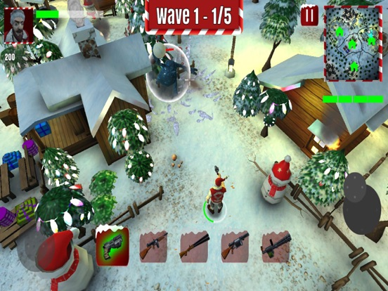 Xmasgeddon iOS Screenshots