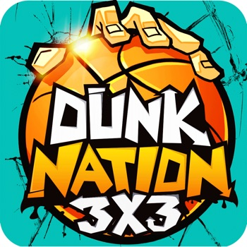 Dunk Nation 3X3 app for iphone