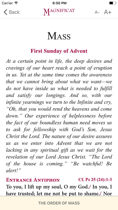 Magnificat Advent 2017 screenshot 3