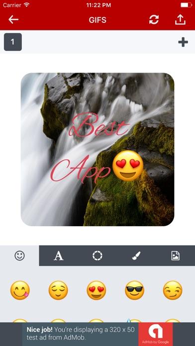 GIF برنامج فيديو صور متحركهلقطة شاشة2