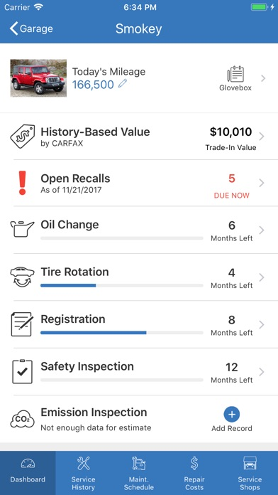 Mycarfax Car Maintenance On The App Store