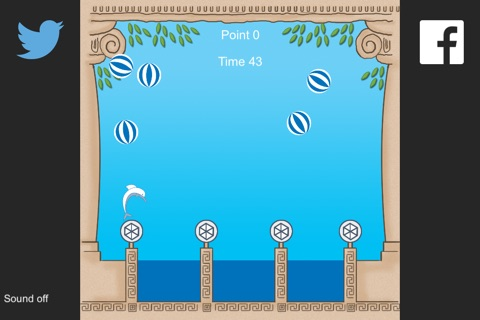 Dolphin Water Game screenshot 2