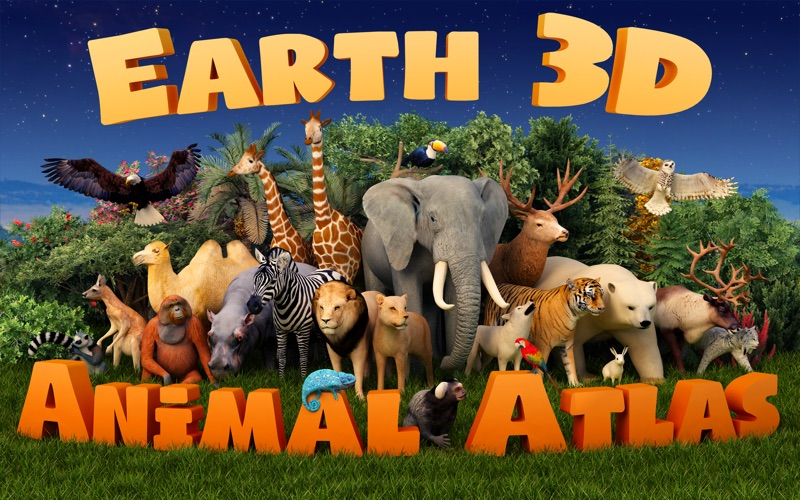 Earth 3D - Animal Atlas Screenshots