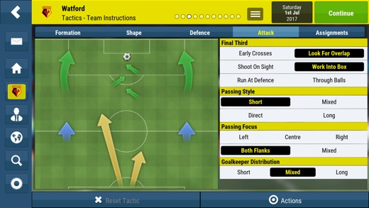 Football Manager Mobile 2018 Screenshot