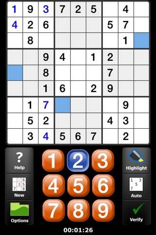 Satori Sudoku screenshot 2