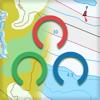 Mapitare Terräng- och Sjökarta