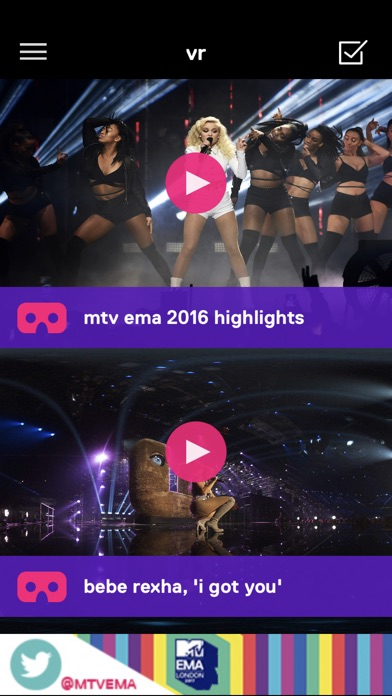 Download MTV EMA App