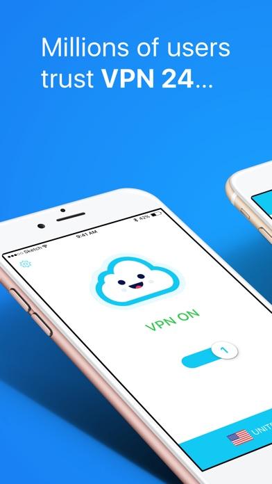 download VPN 24: Hotspot VPN for iPhone appstore review