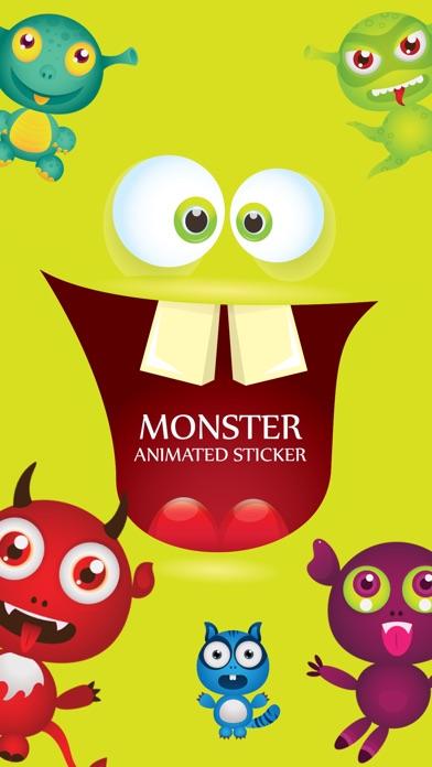 Animated Cute Monsters screenshot 1