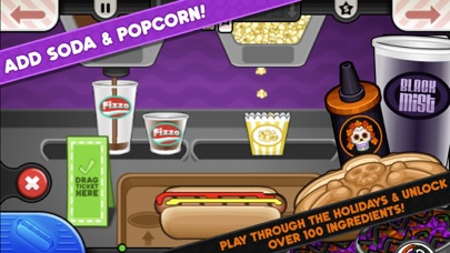 Screenshot for Papa's Hot Doggeria To Go! in United States App Store
