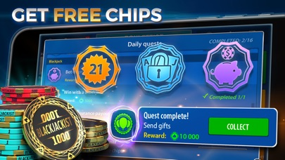 download Blackjack 21: Blackjackist apps 3