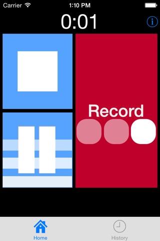 MP3 Voice Recorder screenshot 2