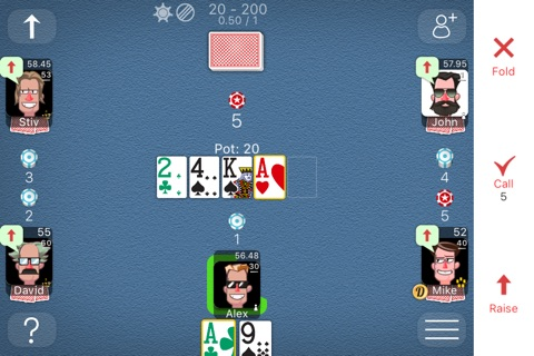 Poker Online Games screenshot 3
