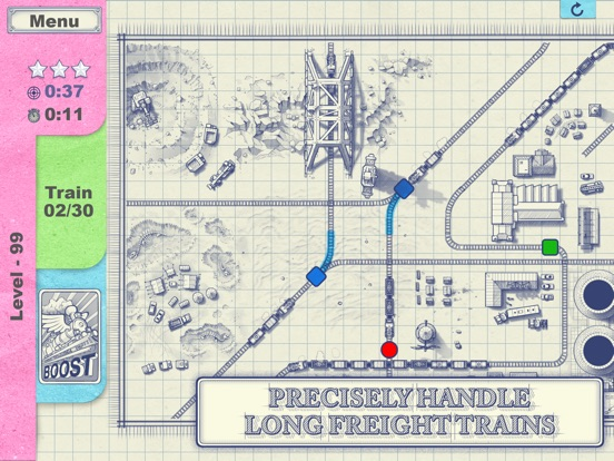 Paper Train: Traffic Screenshots