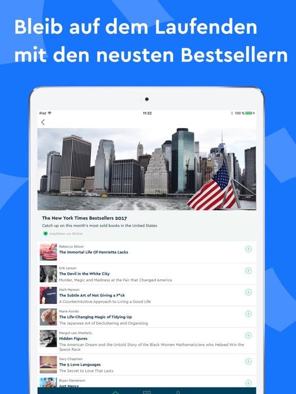 Blinkist - Lerne jederzeit Screenshot