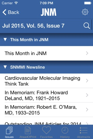 SNMMI Journals screenshot 4
