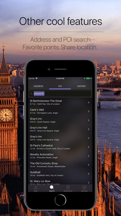 Screenshot for England, UK Offline Navigation in Japan App Store