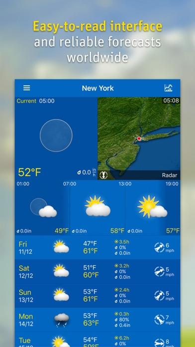 WeatherPro Screenshots