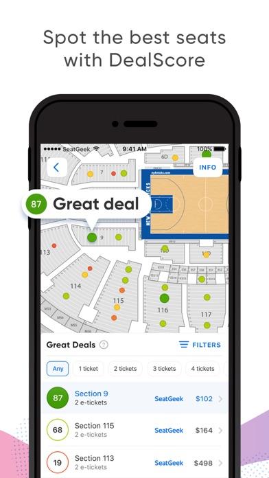 download SeatGeek - Buy Event Tickets apps 2