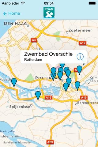 ZwemApp Rotterdam screenshot 3