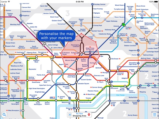 London Underground by Zuti on the App Store