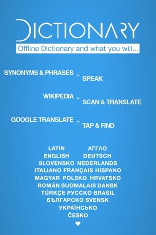 Dictionary Hungarian English screenshot 1