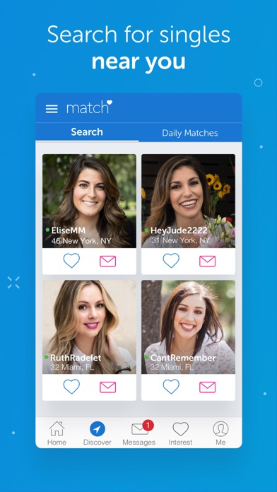 How dating apps match people