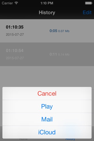 MP3 Voice Recorder screenshot 3