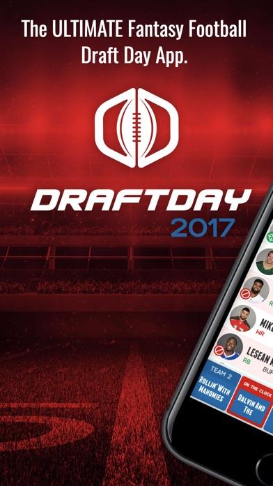 Fantasy Football Draft Day 2017 Screenshot
