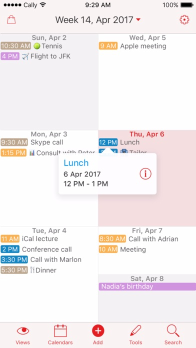 Week Calendar For iPhone/Watch Goes Free For First Time In Ten Months