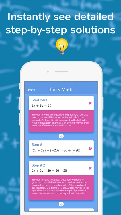 Felix: Math Explanations & Step-by-Step Solver by Homework Tutor Limited
