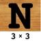 数字のパズル 3X3