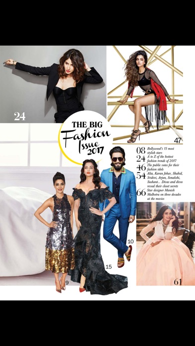 Filmfare Magazine review screenshots