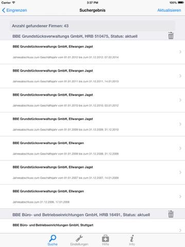 BilanzMonitor Plus screenshot 3