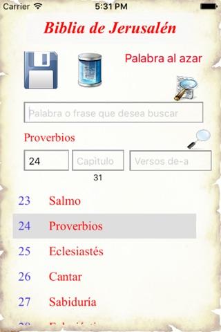 Biblia de Jerusalén screenshot 1