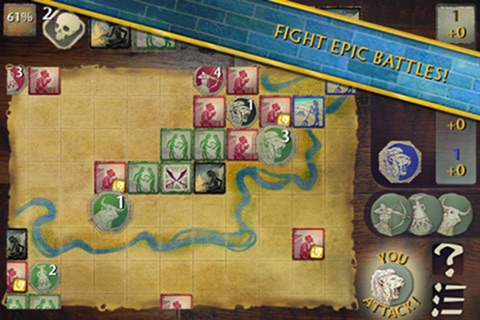 Reiner Knizia Tigris&Euphrates Screenshot