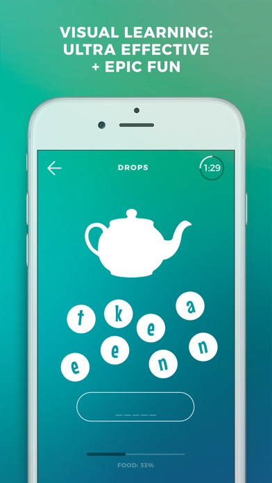 Screenshot #5 for Learn German language & words with Drops