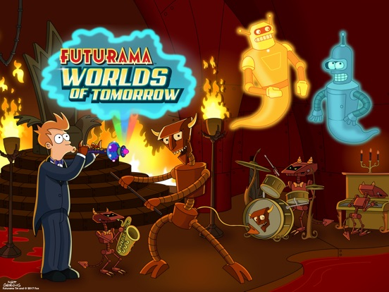 Screenshots of Futurama: Worlds of Tomorrow for iPad