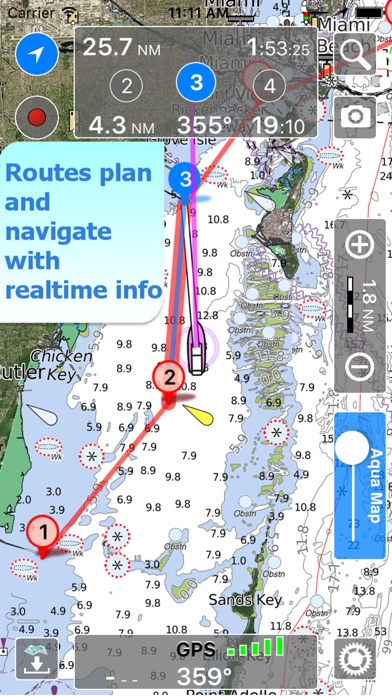 download Aqua Map Missouri Lakes GPS HD apps 3