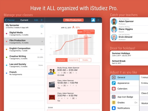 iStudiez Pro Legendary Planner screenshot 4