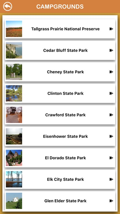 Screenshot for Kansas National Parks in South Africa App Store