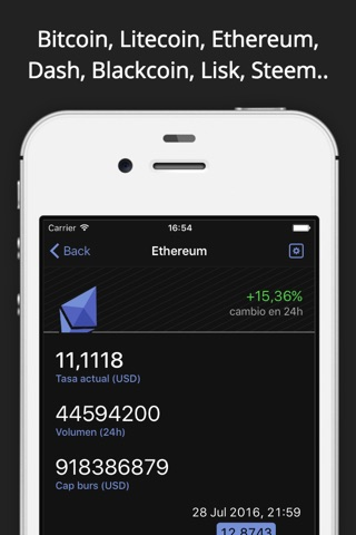 Crypto Pro: Bitcoin Ticker screenshot 3