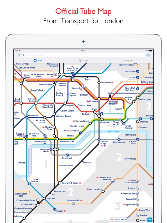 Tube Map  London Underground on the App Store