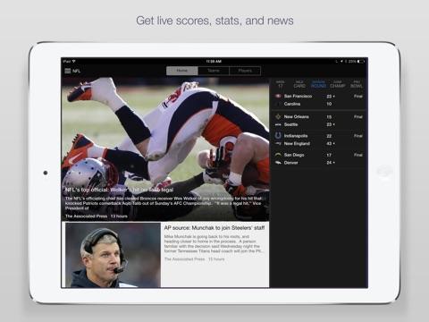 Yahoo Sports: Football & More screenshot 1