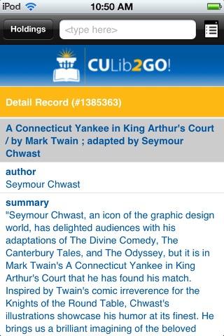 CULib2Go! screenshot 3